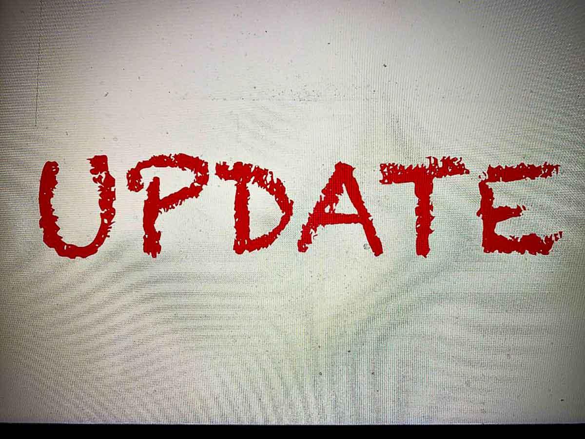 Update / Info 26.10.20